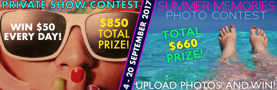 SoulCams September contests 2017